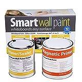 Pittura Lavagna & Magnetica 2m² - Vernice Calamitata & Scrivibile Trasparente Per Pennarelli