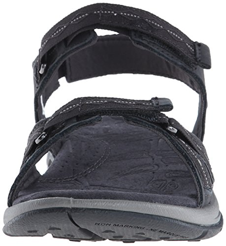 Columbia KYRA VENT II Damen Slingback Sandalen Schwarz (Shark, Light Grey 011)