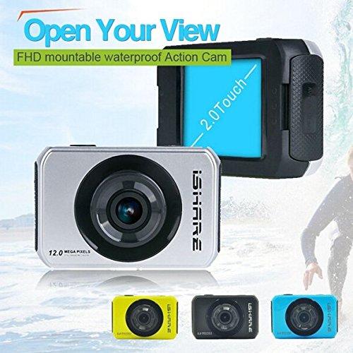 Bazaar IShare S200 HD Sport Action Kamera 1080P 2.0 Zoll Touch Camcorder S200 Kamera