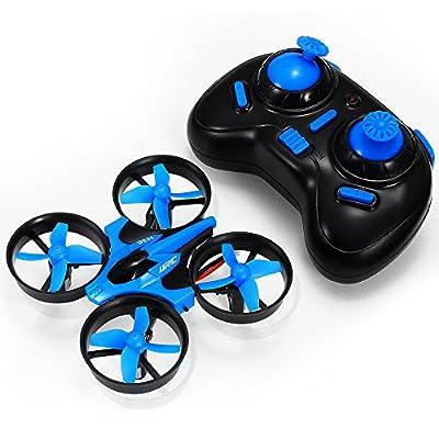 Mini Quadrocopter Drohne, JJRC H36 Mini Quadcopter Drone Spielzeug Geschenk Kinder Anfänger von Aeiolw