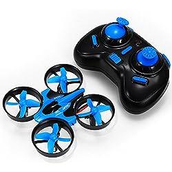 REALACC H36 Mini Remote Control Drone 2.4G 4CH 6 Axis Gyro Headless Mode One Key Return RC Toys Micro Nano UFO Quadcopter Drone RTF Mode 2 …