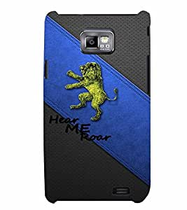 PrintVisa Quotes & Messages 3D Hard Polycarbonate Designer Back Case Cover for Samsung Galaxy S2
