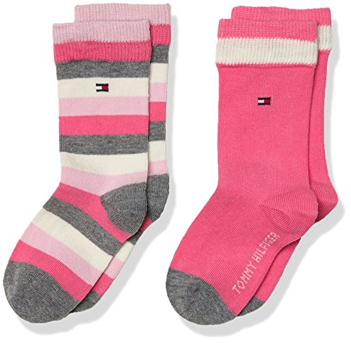 Tommy-Hilfiger-Th-Kids-Basic-Stripe-Sock-2p-Calcetines-para-Nios-lot-de-2