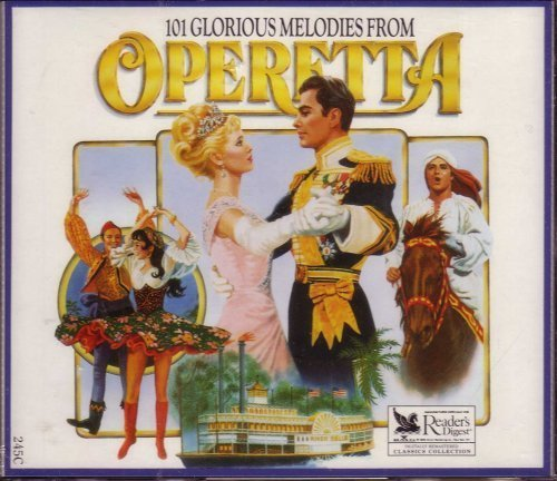 101 Glorious Melodies from Operetta (Discs 1, 2 & 3) Box set edition (1989) Audio CD