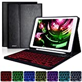 Best Ipad Air Case With Keyboard Bluetooth Backlits - iPad Keyboard Case 9.7 for iPad 2018 Review