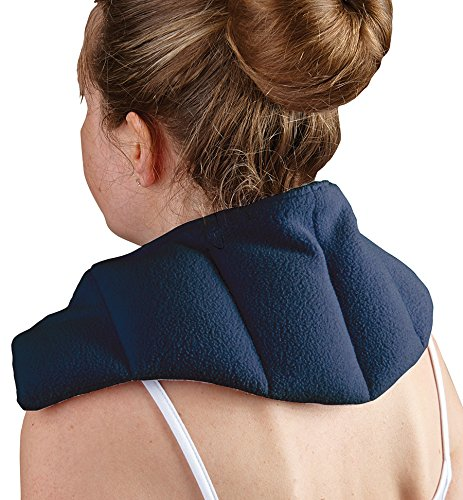 Natural Moist Microwave Wheat Pack Universal Neck and Shoulder - Unscented can be used Hot or cold