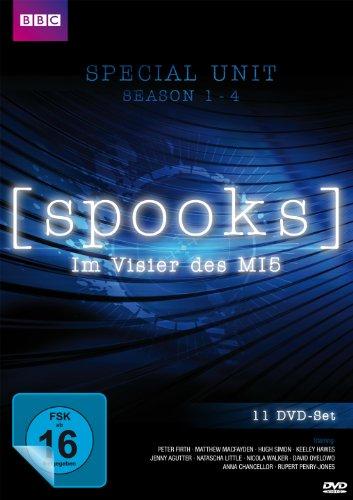 Spooks - Im Visier des MI5: Staffel 1-4 (11 DVDs)