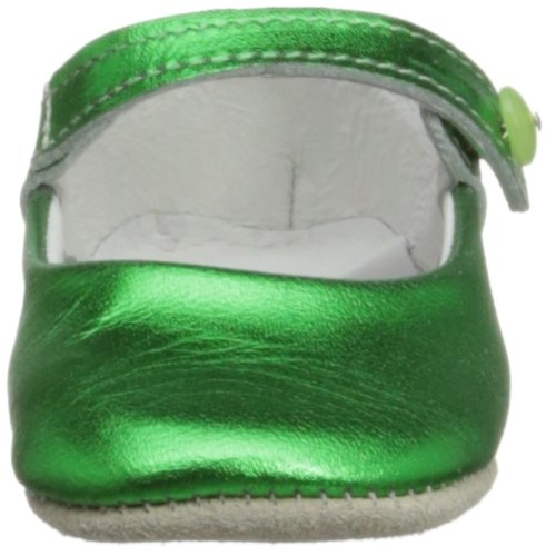 Rachel Riley Rrshoe1ame, Chaussons fille Vert - Metallic Emerald