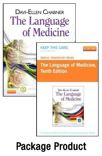 Medical Terminology Online for The Language of Medicine (Access Code and Textbook Package), 10e 10th Edition by Chabner BA MAT, Davi-Ellen (2013) Paperback