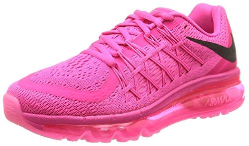 Nike Wmns Air Max 2015, Chaussures de Sport Femme multicolore (Pink Foil/Black-Pink Pow)