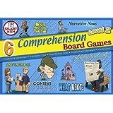 6 Reading Comprehension Board Games Level 2