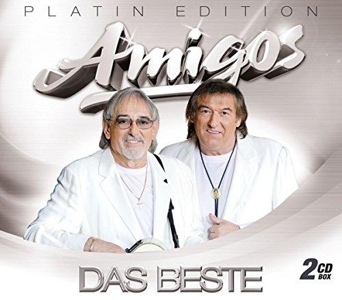 Das Beste - Platin-Edition (2 CDs mit großen Erfolgen der Amigos) inkl. den Hits: Ich geh für dich durchs Feuer, Dann kam ein Engel, Das weiße Schiff verlässt den Hafen Platin-musik
