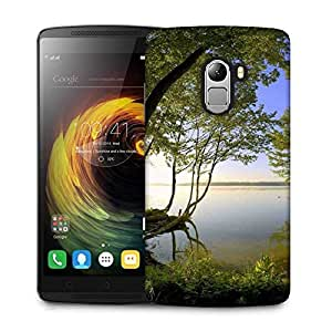 Snoogg Forest Side River Designer Protective Phone Back Case Cover For Lenovo A7010