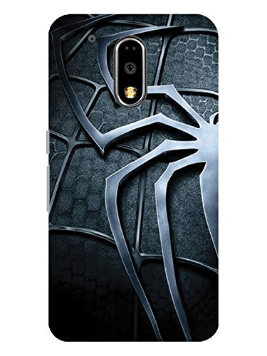 TREECASE Designer Printed Soft Silicone Back Case Cover For Motorola Moto G Plus, 4th Gen