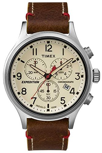 Timex – Cronã³grafo – brown