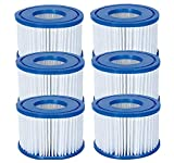 Bestway Filters VI Cartridge Lay Z SPA Miami Vegas Monaco BW58323 Replace 58239[3 x Twin Pack]