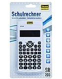 Idena 505282 - Schulrechner SR 200, 10-stelliges Display, farbig sortiert