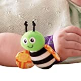 Kuhu Creations® Multicolor Baby Wrist Rattle 2pcs.