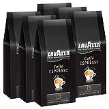 Lavazza Kaffee Caffè Espresso Arabica, ganze Bohnen, Bohnenkaffee (6 x 1kg Packung)