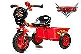 Dreirad Cars mit Schubstange & Kippwanne Kinderdreirad Kinderfahrzeug Rutschauto