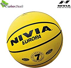 Nivia Europa 634 Basketball, Size 7