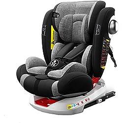 Babify On Board - Silla de coche giratoria 360º - Contramarcha. grupos 0/1/2/3 (0-36 kg)