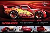 Disney Autos 3 'Lightning McQueen Stats' Maxi Poster,61 x 91.5 cm