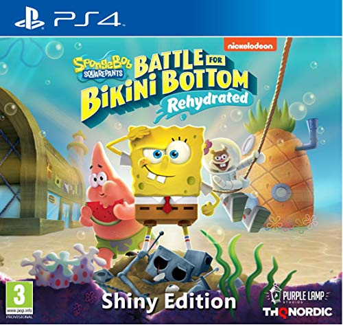 Spongebob SquarePants: Battle for Bikini Bottom - Rehydrated - Shiny Edition [Playstation 4]