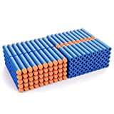 AMOSTING Refill Darts 200PCS Bullets for Nerf N-Strike Elite Zombie Strike Rebelle - Blue