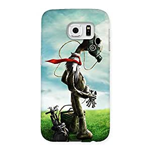 Enticing Guy Weird Back Case Cover for Samsung Galaxy S6