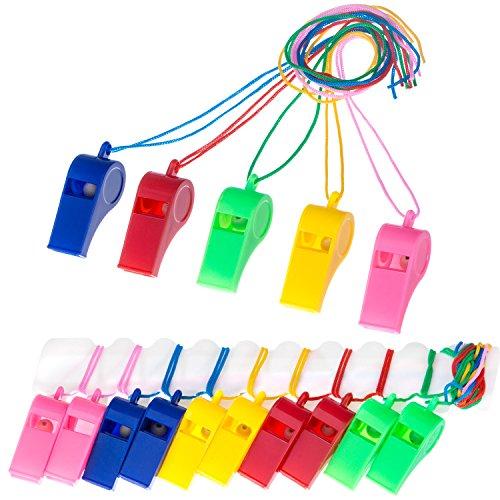 eifen mit Lanyards für Party Sport, 5 Farben ()