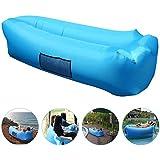 Canapé à Air, AngLink Etanche Air Canapé portable avec Sac à Main, sac de couchage à l'intérieur de l'air extérieur pour le repos | Camping | Beach | Fishing, ect