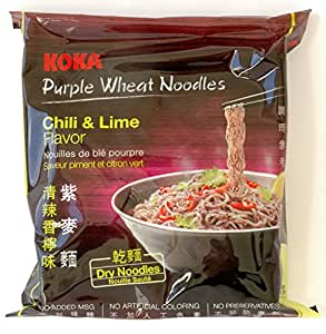 Koka Purple Wheat Noodles Chilli and Lime Flavour, 60g