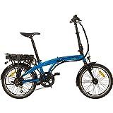 REMINGTON Faltrad Urban Folder 20 Zoll  E-bike Klapprad Pedelec StVZO, Farbe:blau - 3