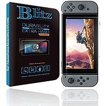 Protection écran pour Nintendo Switch | Protection Nintendo Switch Ultra résistante Blitz⚡ | Protection Switch Premium en verre trempé 9H HD 100% transparent