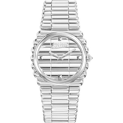 Montre Femme - Jean Paul Gaultier - Bord Côte - Bracelet Acier PVD - 34mm - 8504101