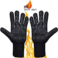 Guantes OneScreen para barbacoa, resistentes al calor hasta guantes