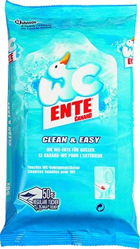 WC-Ente 50 Reinigungstücher