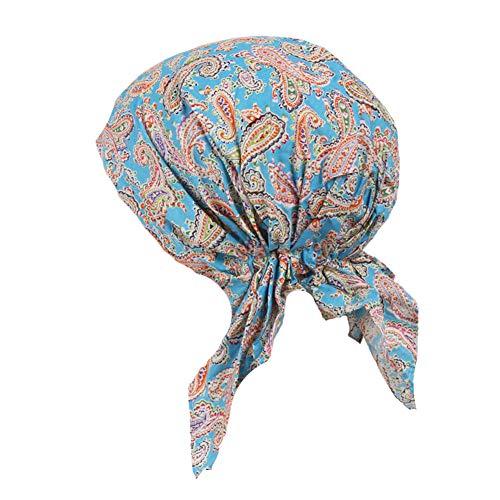 5913c237f ZYCC Sombrero unisex de la bufanda de la cabeza Bandana algodón impreso.