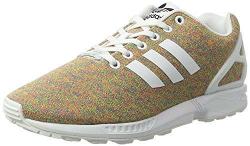 adidas Zx Flux, Scarpe da Ginnastica Basse Uomo, Orange Multicolore (Footwear White/footwear White/footwear White)