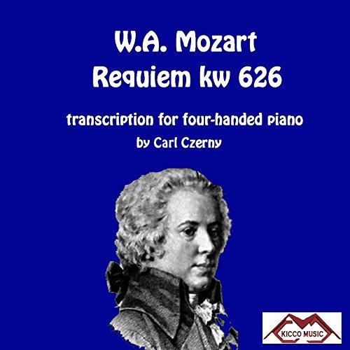 Recordare KW626 (trascrizione per pianoforte a quattro mani di Carl Czerny) in F Major, KW626, IWM 441