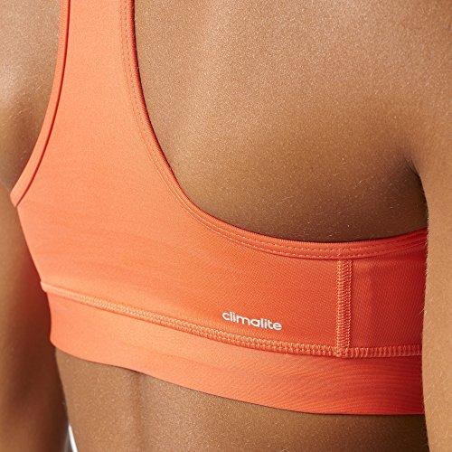 adidas Tf Mc - Reggiseno Donna Arancione (Corsen/Plamat)
