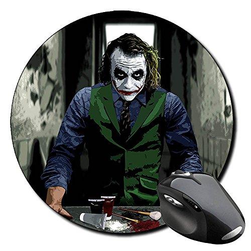 batman-joker-heath-ledger-tapis-de-souris-ronde-round-mousepad-pc