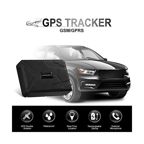 120 giorni di autonomia Mini GPS impermeabile per tracciare i veicoli GPRS localizzazione gps//gprs in tempo reale GSM