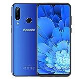 DOOGEE N20 (2019)4G Cellulari Economici, 6.3 pollici FHD+ Display Telefoni Cellulari in Offerta Android 9.0 Octa core 4 GB RAM 64 GB ROM, Telecamera 16 MP+16 MP+8 MP, 4350 mAh - Blu