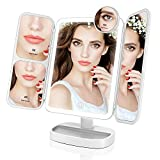 Best Miroirs Lumineux De Maquillage - EASEHOLD Miroir Lumineux de Maquillage Tri-Pli avec 38 Review