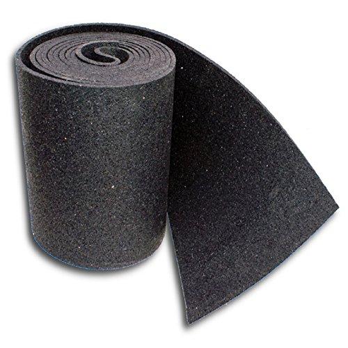 Preisvergleich Produktbild Mbm Antirutschmatte Antivibrationsmatte Bautenschutz Gummi Matte - 25Cm 10Mm