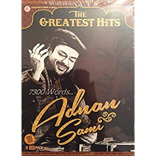 The Greatest Hits 7300 Words... ADNAN SAMI (Bollywood Soundtrack) 2 CDs & 1 Free Songs DVD inside- 2015