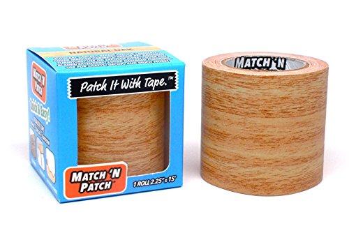match-n-patch-realistische-reparatur-klebeband-eiche-natur