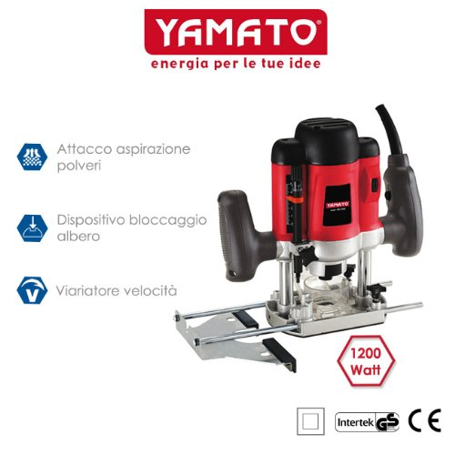 Pantograph Yamato 1200 Watt with milling spindle and guide ER 1200